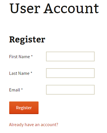 wordpress-registration-page