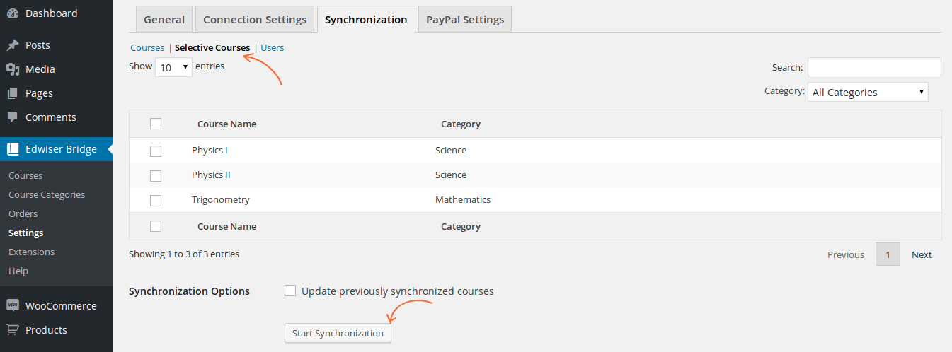 selective-synchronization-moodle-courses