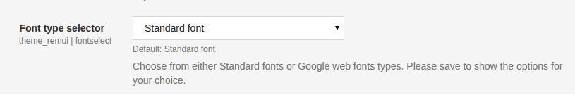 font-selector