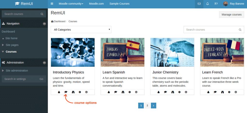 edwiser-remui-admin-courses