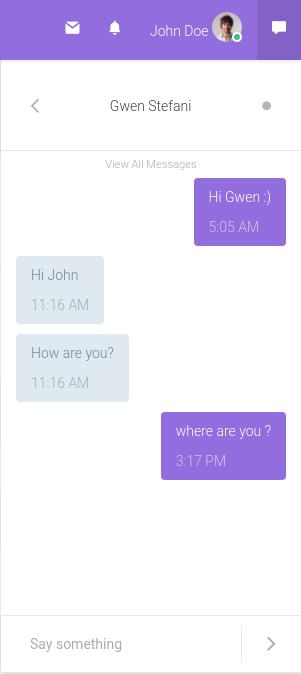 RemUI messaging