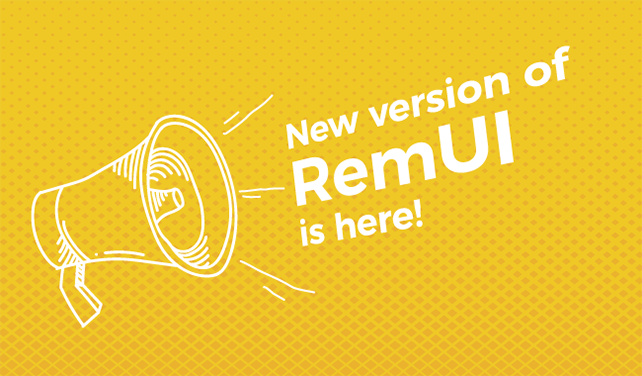 The Curtain Unveils, finally- Presenting RemUI 3.4!