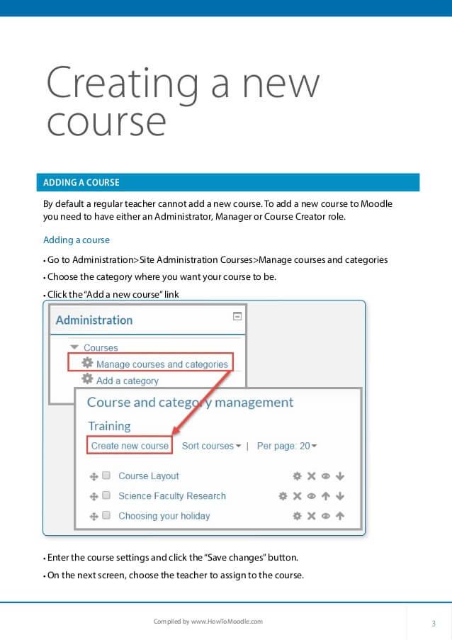 moodle course creator