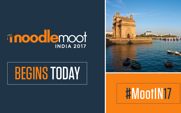 Highlights of Moodle Moot India, 2017!