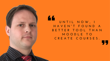 Robert Schrenk expresses his love for Moodle…and more!