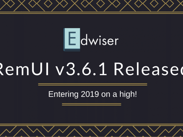 Moodle 3.6 Compatible Theme Edwiser RemUI v3.6.1 Released!