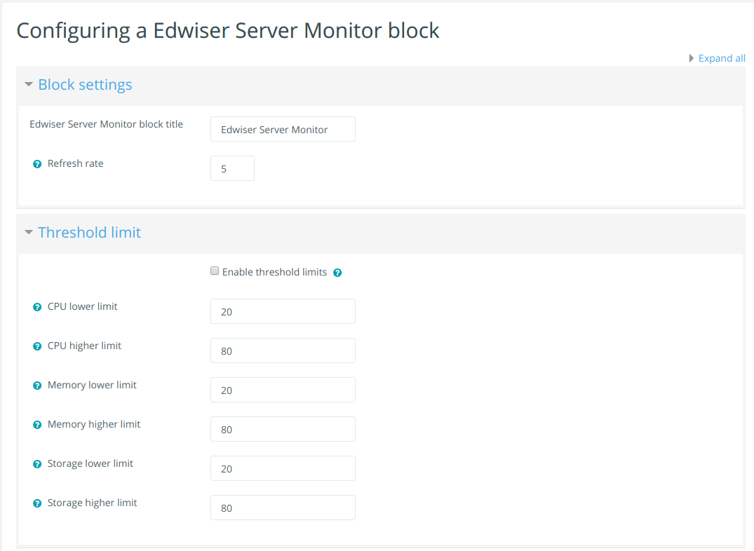 Edwiser Server Monitor