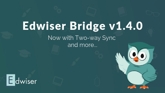 Edwiser Bridge Now with Seamless Two-way Sync