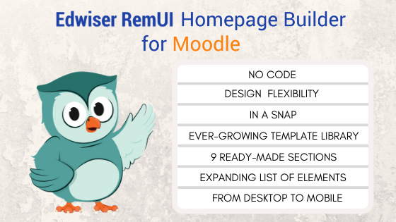 Edwiser RemUI Homepage Builder Benefits