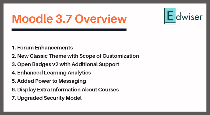 Moodle 3.7 Overview - Edwiser