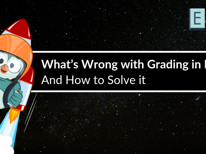 What's Wrong with Grading in Moodle, and How to Solve it
