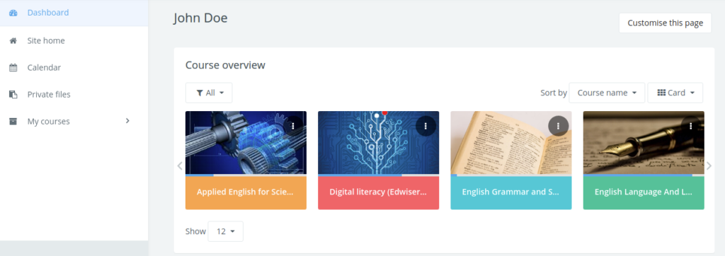 Ease of Access - Edwiser RemUI K12 Theme Site