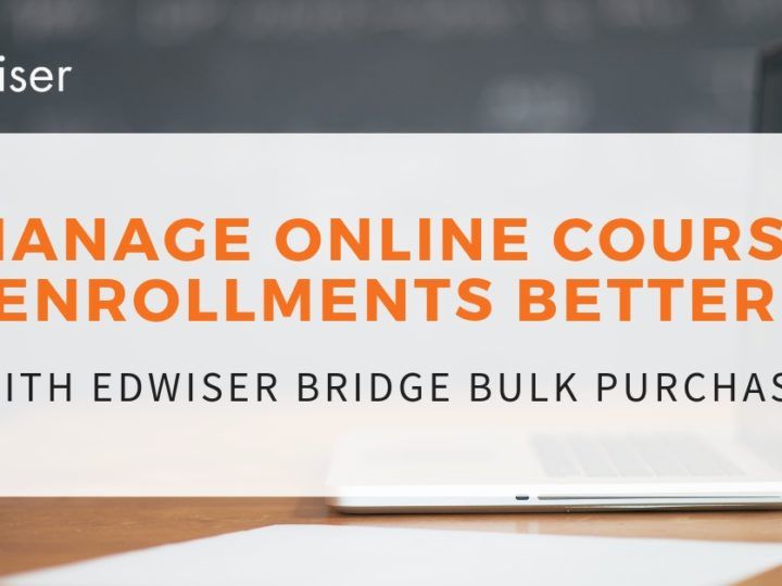 Manage Online Course Enrollments Better with Edwiser Bridge Bulk Purchase Plugin