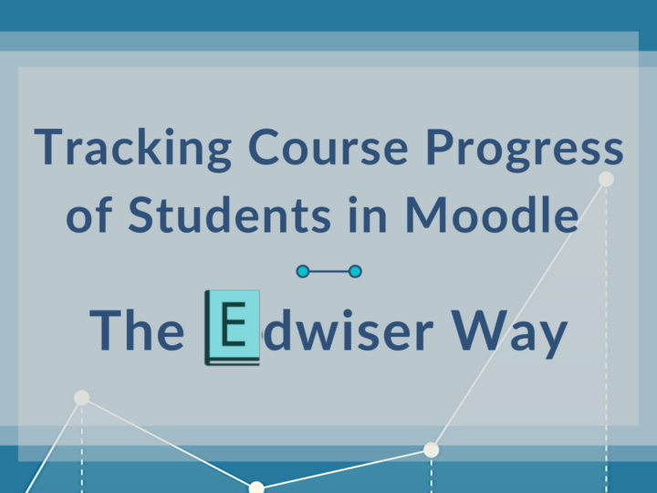 Tracking Course Progress of Students in Moodle – The Edwiser Way