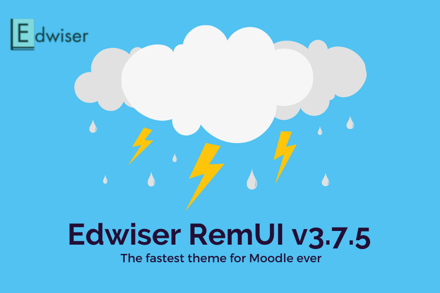 The Fastest Theme for Moodle Ever