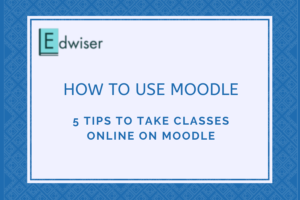 How to Use Moodle - 5 tips to take classes online on Moodle