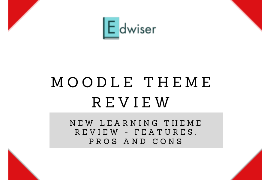 Moodle Theme Review - New Learning Theme