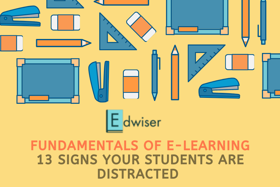 13 signs your learners are distracted