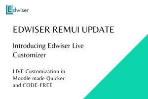 Edwiser RemUI Update-Live Customizer